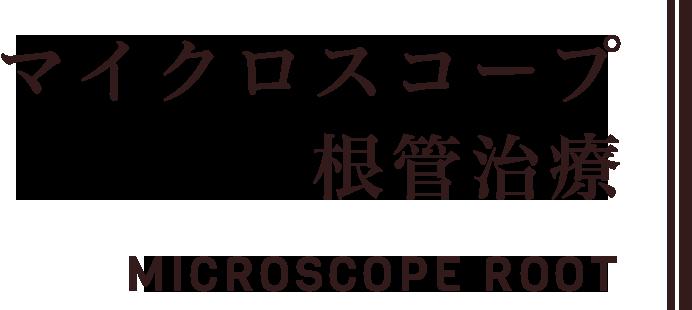 マイクロスコープ根管治療